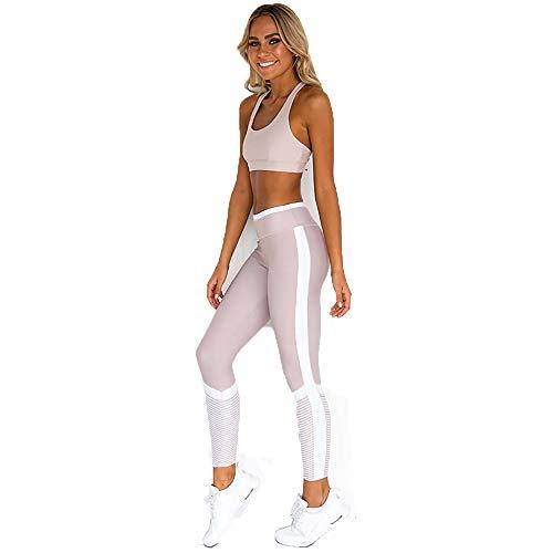 Mujer Basculador Conjunto De Chándal Dos Piezas Crop Top Sudadera Pantalones Largos Deportivos Trajes