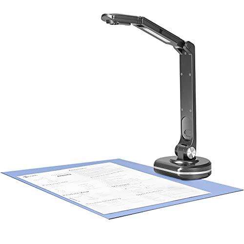 TTLIFE Webcam e portatile A3 Visualizzatore Documentale Scanner ad alta definizione da 8 MP per l apprendimento remoto in aula proiezione