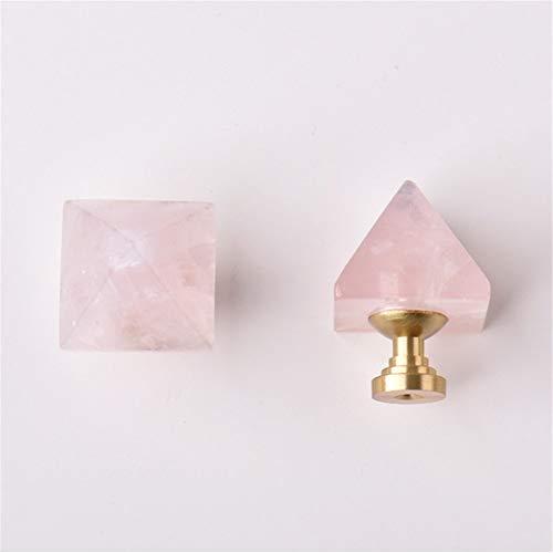 LERDBT Behandeln Crystal Knob Schubladengriff ist ideal for Küchen- und Badezimmerschrank Jalousien Schminktisch für Cabinet (Color : Pink, Size : 31mm)