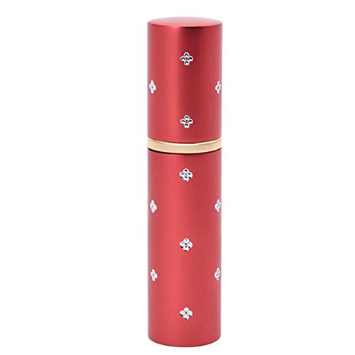 Bouteille en Verre en Verre de Parfum de Toner Vide de 10ml d'Aluminium Conteneur Rechargeable Atomiser Liner
