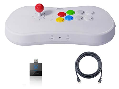 Neogeo Arcade Stick Pro Controller Pack - HDMI and Gamelinq (PS3, PS4, Switch Connectivity) Included - Neo Geo Pocket