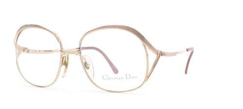 Christian Dior Damen Brillengestell Braun Brown Gold