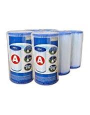 Intex – 6 waterfilterpatronen 'A'.