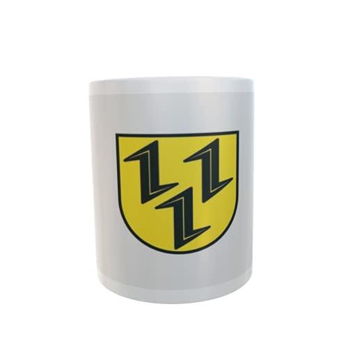 U24 Tasse Kaffeebecher Mug Cup Flagge Gardelegen OT Lindstedt