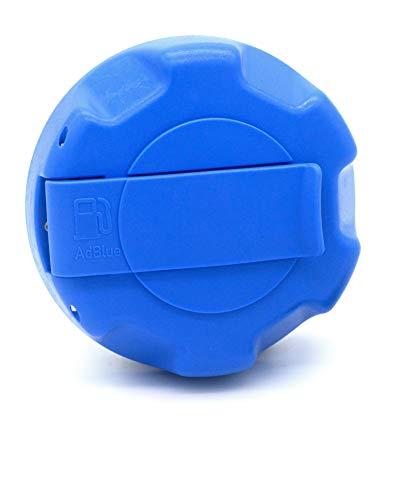 Jost Automotive 110 0025 00 AdBlue Tapón de depósito para Volvo, Renault Trucks, Nissan, azul, 60 mm