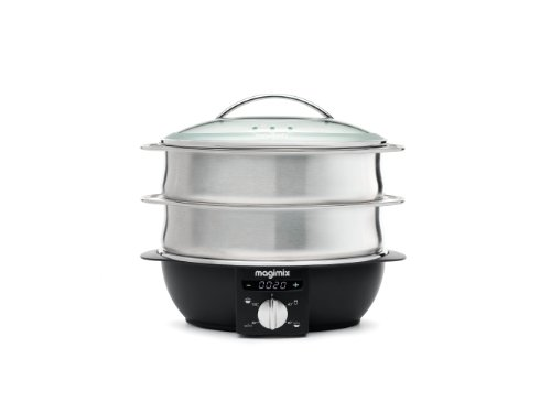 Magimix 11581 Multi-Functional Steamer, Brushed Steel