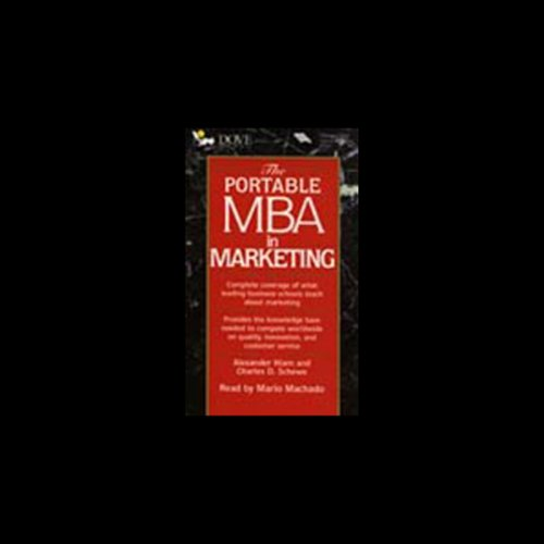 The Portable M.B.A. in Marketing cover art