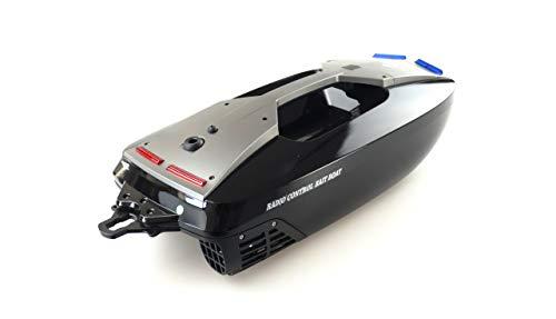 Amewi 26080 Baiting B 500 V3 Futterboot 2,4GHz RTR, ferngesteuert, Schwarz-Silber