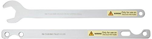 AlphaMoto Tool Bmw Gm Fan Clutch Nut Wrench Water Hub Holding Holder SET