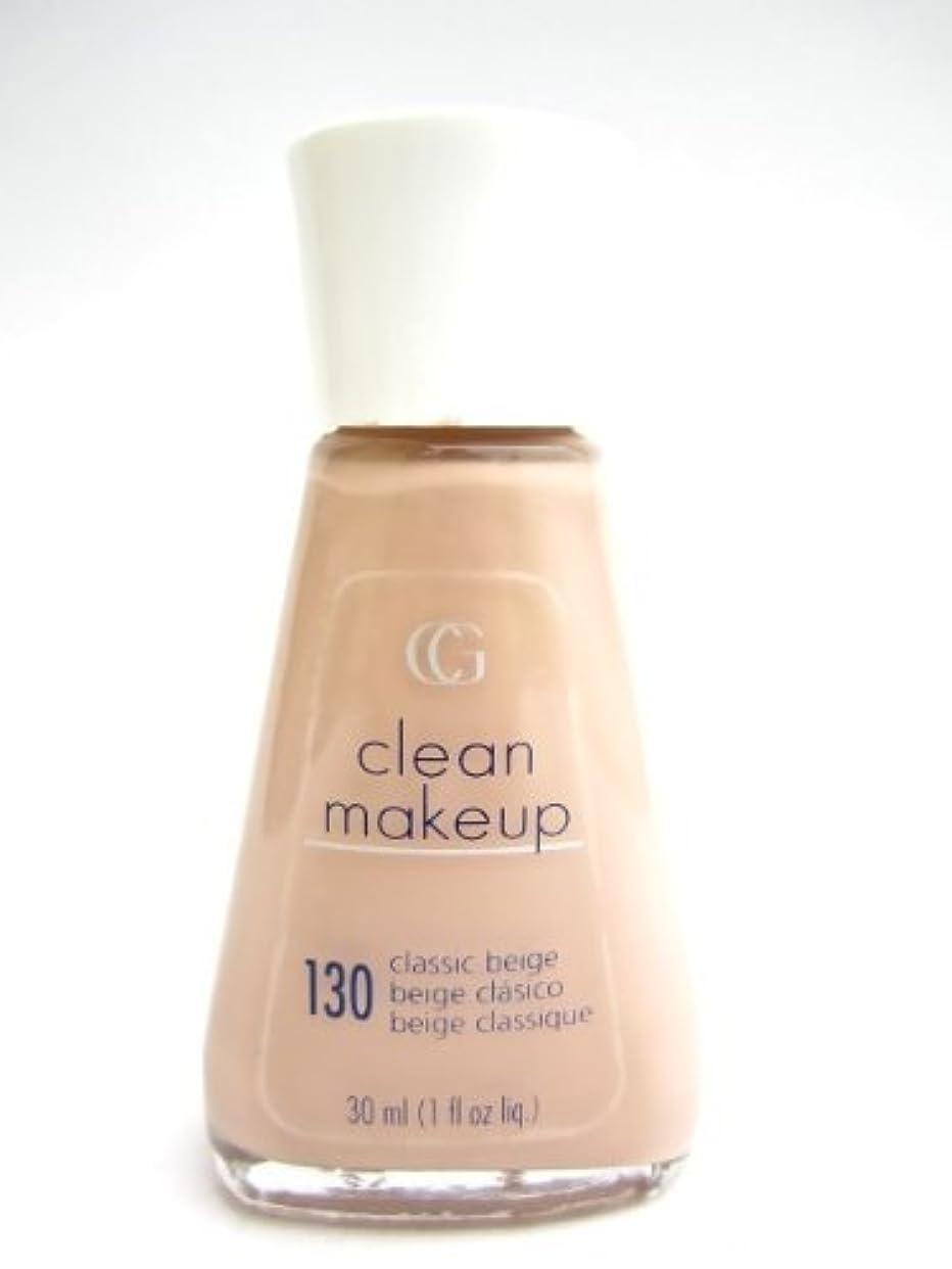 少ない広がりほこりCOVERGIRL CLEAN MAKEUP #130 CLASSIC BEIGE