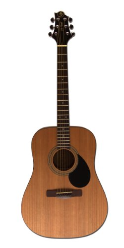 Greg Bennett Design Gold rush D1 N Dreadnought Acoustic Guitar, Natural