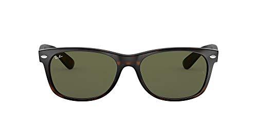 Ray Ban MOD. 2132, Gafas de Sol Unisex, Marrón (Havana), 52 mm