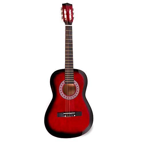 Chitarra Classica YKW ® (38' - 96 cm, Rosso)