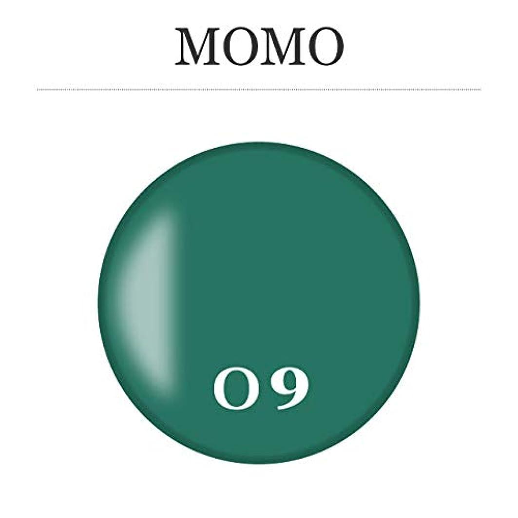 命令地下室自体カラージェル MOMO-09 by nail for all