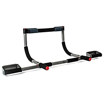 Perfect Fitness Multi-Gym Doorway Pull Up Bar and Portable Gym System, Elite