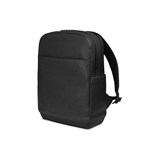 Moleskine - Classic Pro Backpack, Professioneller Office Rucksack, Laptop Rucksack für Laptop, iPad, Notebook bis 15'', Herren Arbeitsrucksack, Größe 43 x 33 x 14 cm, Schwarz
