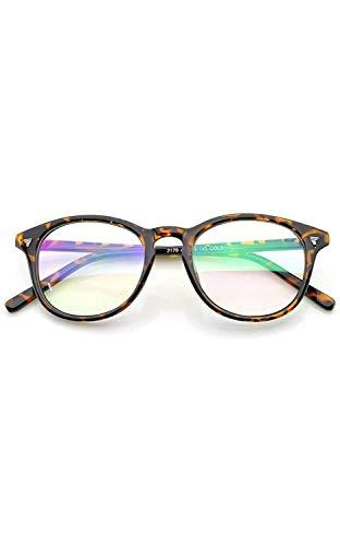 Peter Jones Round Anti Glare Reading Glasses for Men Women, Computer Readers UV 400 Customise Prescription (AG017)