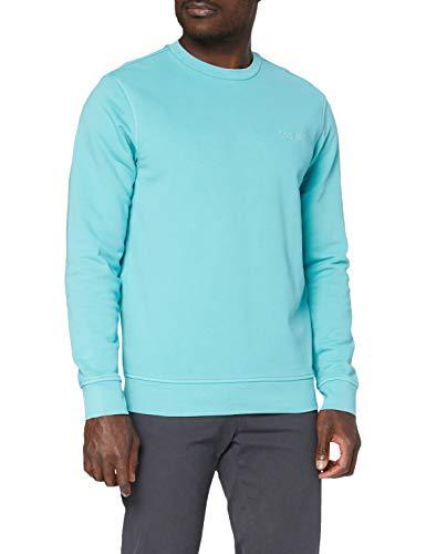 Dockers Logo Sweatshirt Sudadera, Meadowbrook, L para Hombre