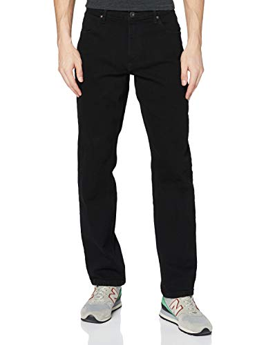 Wrangler Herren Authentic Straight Jeans, Rinse 107, 42W / 32L