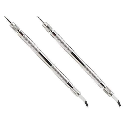 【𝐅𝐫𝐮𝐡𝐥𝐢𝐧𝐠 𝐕𝐞𝐫𝐤𝐚𝐮𝐟 𝐆𝐞𝐬𝐜𝐡𝐞𝐧𝐤】Uhrenreparaturwerkzeuge, Handwerkzeugwechsel-Riemenwerkzeug, einfach zu bedienende manuelle Doppelfunktion zum Wechseln des Riemens