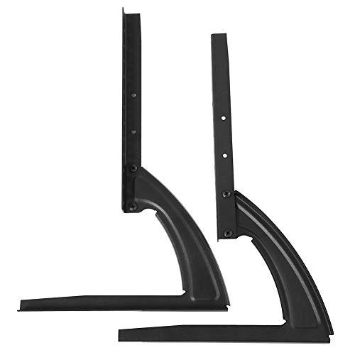 HechoVinen Soporte universal para TV, patas de mesa, escritorio, TV, pedestal, monitor de mesa, elevador, para pantalla plana LCD de 32 a 70 pulgadas, VESA de hasta 300 mm de carga 30 kg