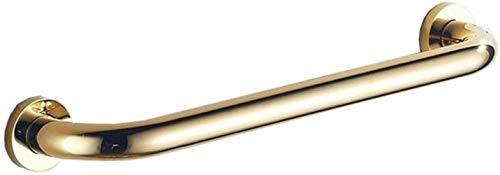 LIUYULONG Mango de baño antideslizante para discapacitados, barra de latón para ducha, toallero montado en la pared, barra de soporte de seguridad para bañera, herramientas auxiliares (tamaño: 42 cm)
