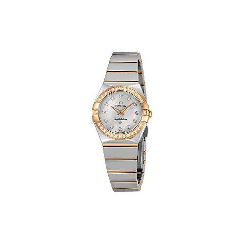 Omega donna costellazione diamante 24mm orologio al quarzo...
