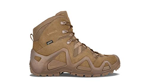 Lowa Zephyr Gore Tex GTX Mid Coyote OP Desert Military Tactical Waterproof Boots