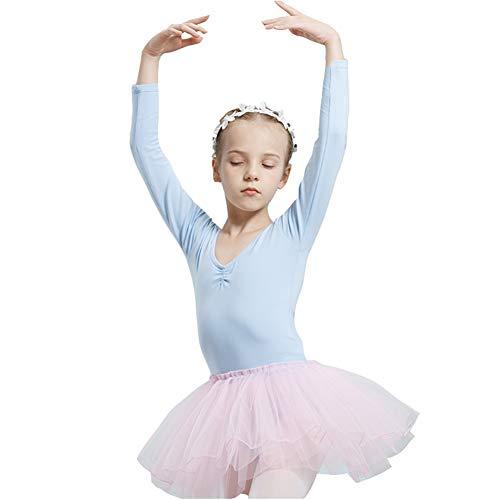 KsitH danspak voor kinderen meisjes balletjurk lange mouwen herfst en winter eendelig voor kinderkleding