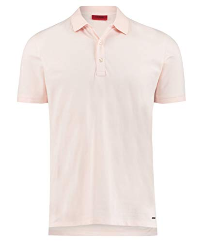Hugo Boss Herren Poloshirt Dinos Slim Fit Kurzarm Rose (70) M