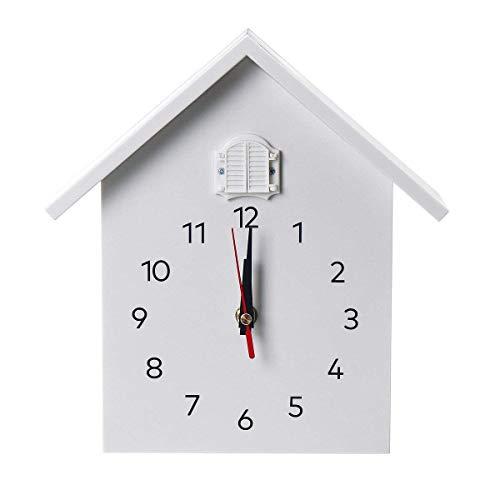 J.SCT-5 Orologio da Parete al Quarzo a cucù Orologio da Appendere Moderno a Forma di Uccello Decorazione sveglie Horologe Home Living Room Fashion House Timing Clock t