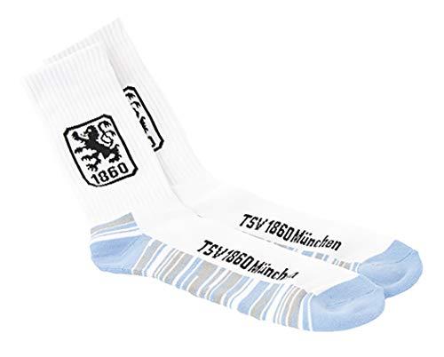 TSV 1860 München Sportsocke / Socken Fanartikel, Größe:35-38