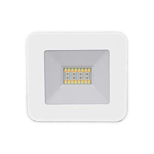 V-TAC Smart Home VT-5020 20W Bluetooth Slim Aluminium Scheinwerfer Strahler weiß RGB+3IN1 Dimmer Smartphone Management - sku 5984