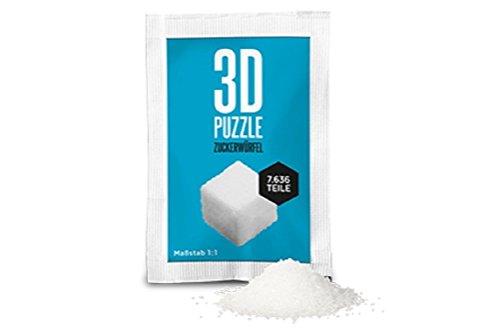 Unbekannt Liebeskummerpillen 3D-Puzzle Zuckerwürfel ca. 7636 Teile bunt