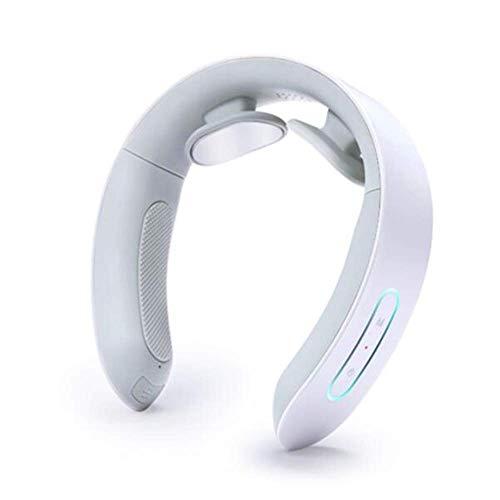 KANJJ-YU Massager del Cuello, de la vértebra Cervical Tejido Profundo Tratamiento for relajar el músculo Alivio del Dolor for el Coche de Ministerio del Uso, Wireless