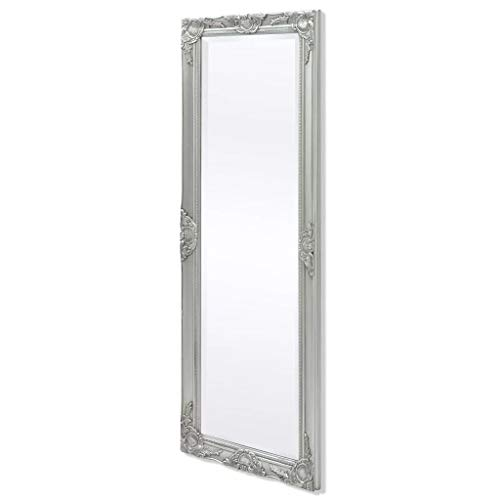 Festnight Wandspiegel im Barock-Stil Wand Spiegel Barockspiegel Flurspiegel Holzrahmen Spiegel 140 x 50 cm