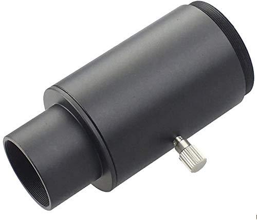 Adaptador de cámara Universal Solomark de 1,25 Pulgadas: Conecta el telescopio a una cámara DSLR o sin Espejo para fotografía de proyección Ocular (Tubo de extensión del Adaptador de cámara)