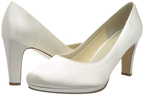 Rainbow Club Brautschuhe Grace – Pumps, High Heels, Ivory/Creme - 2