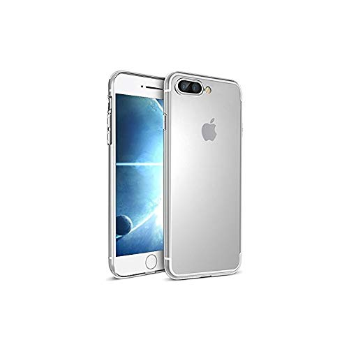 Takeon Cover Trasparente per iPhone 7 Plus Morbida in Silicone 0,3 mm Sottile
