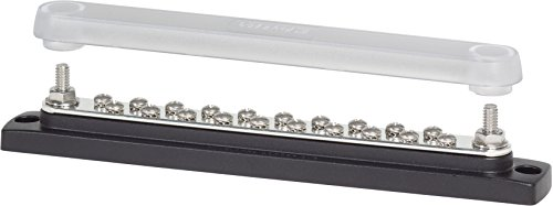 Blue Sea Systems - 2312 BUSBAR 150 AMP 20X8-32 W/COVR