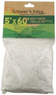Grower's Edge Soft Mesh Trellis Netting 5 ft x 60 ft