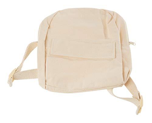 VBS Kinder-Rucksack mit Reißverschluss 23x21x7cm Baumwolle
