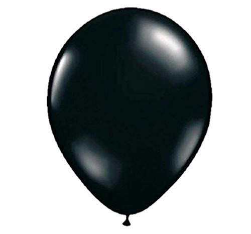 Folat 08178 Schwarzer Ballon 30 cm-10 Stück