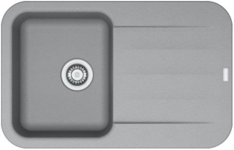 Franke 114.0330.975 Granite Kitchen Sink with a Single Bowl, Stone Grey