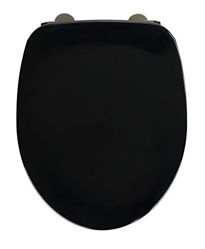 WENKO WC-Sitz Armonia Schwarz