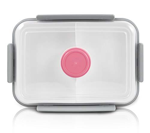 Pote Marmita Bpa Free Vai Ao Micro-ondas 3 Compartimentos pote plástico refeição potinho para molho