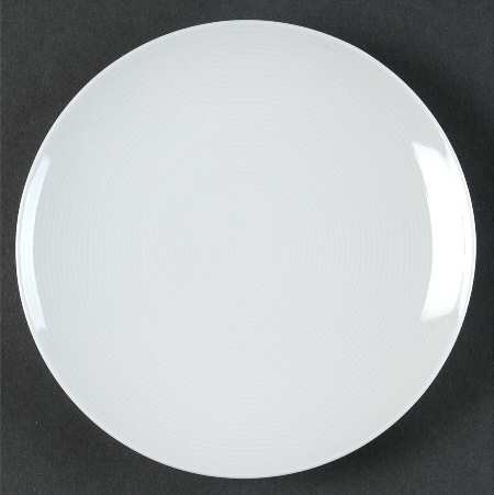 Thomas Loft White Bread & Butter Plate, Fine China Dinnerware