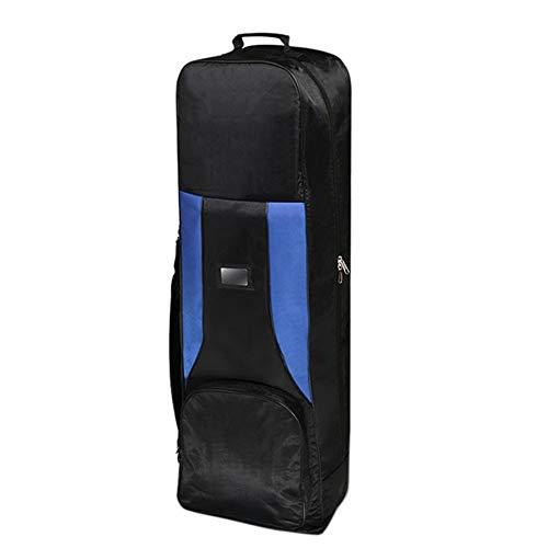 ZXCV wasserdichte Golf Aviation Pulley Tasche Faltbare Golf Club Tasche Flugzeug-Reise-Nylon Golftasche, bequem Unisex zu tragen JCY (Color : Blue)