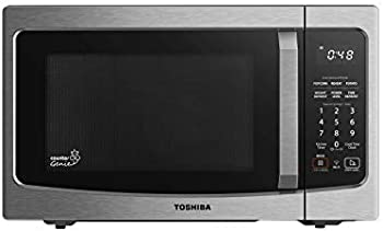 Toshiba 1.3 cu.ft. Stainless Steel Smart Microwave, Works with Alexa