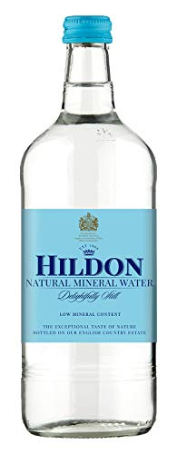 Hildon - Delightfully Still (Non-Sparkling) Natural Mineral Water, 25.3 fl oz (12 Glass Bottles)